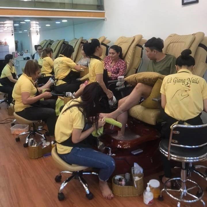 Nail salon uniform t-shirt