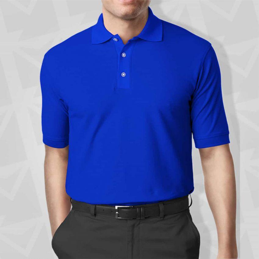 Áo thun đồng phục màu xanh bích