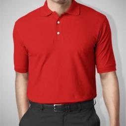 Áo thun đồng phục cá sấu màu đỏ